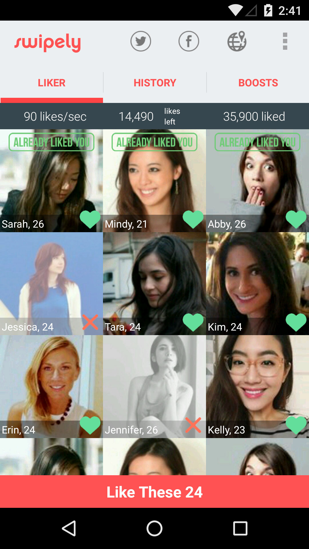 bonfire tinder android